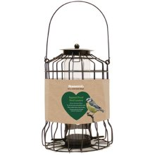 Rosewood Squirrel Proof Wild Bird Seed Feeder