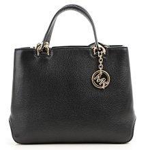 2fec1f3ef3bb Michael Kors Anabelle Medium Top-Zip Leather Tote Bag - Black -  30S6GAPT2L-001
