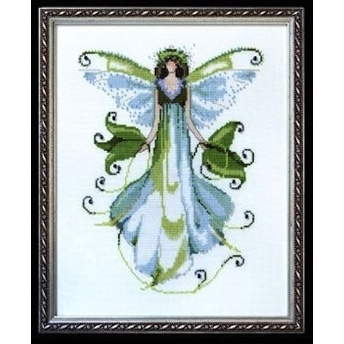 Pixie Couture Collection Morning Glory Counted Cross Stitch Chart Pattern