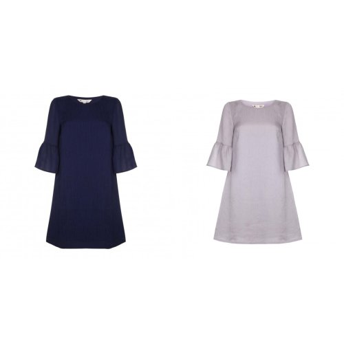 Yumi Womens/Ladies Plain Tunic Top