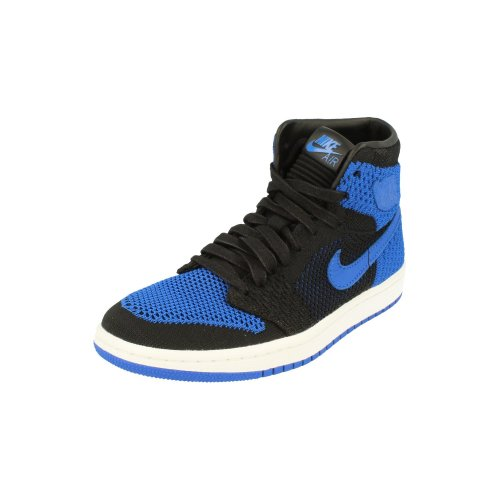 Nike Air Jordan 1 Retro Hi Flyknit BG Basketball Trainers 919702 Sneakers Shoes