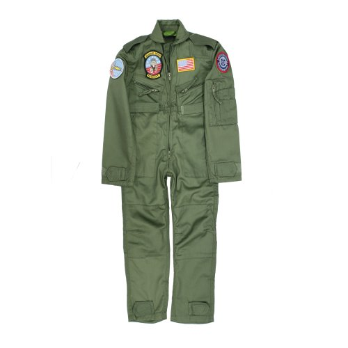 New Kids Airforce Flight Suit Overall Badges