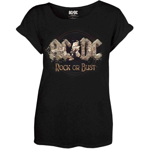 XL Ac/dc Rock Or Bust Ladies T-shirt. -