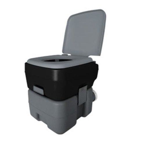Reliance Products 2160019 5 Gal Portable Toilet 1020T - Black