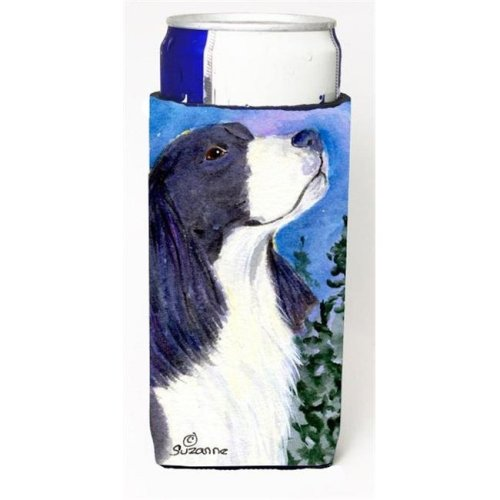 Carolines Treasures SS8985MUK English Springer Spaniel Michelob Ultra bottle sleeves For Slim Cans - 12 oz.