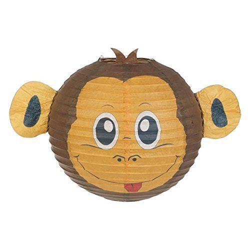 Monkey Lampshade Decorative Animal Lampshades for Children bedroom playrooms baby nursery lighting Fun and vibrant colours makes Pendant lights and...