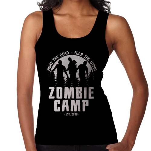 Zombie Camp The Walking Dead Women's Vest