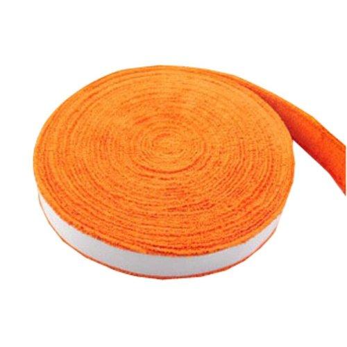 Badminton Crank Handle - Tennis, Badminton Hand Gel  Towel -- Orange