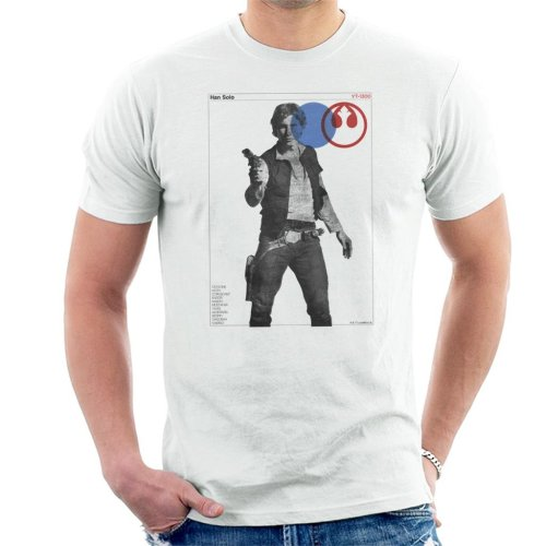 Star Wars Han Solo YT 1300 Millennium Falcon Men's T-Shirt