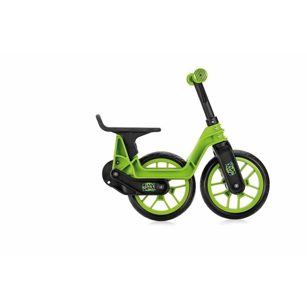 edc1bfab323 ... Xootz Toddler Kids Boys Folding Training Balance Bike - Green - 2.