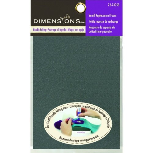 D72-73958 - Dimensions Needle Felting - Small Foam (for D72-73921)