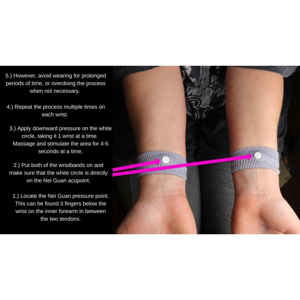 Acupressure Wristband For Nausea - Acupuncture Acupressure ...