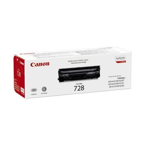 Canon Crg 728 Cartridge 2100pages Black