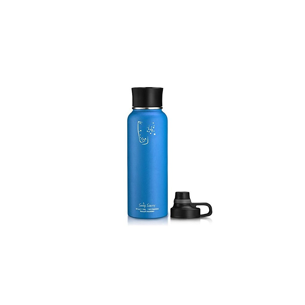 24a27b0023 ... SWIG SAVVY Bpa-Free Leak-Proof Stainless Steel Wide Mouth Insulated  Water Bottle With ...