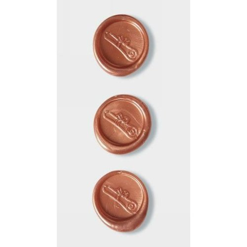 Copper Rolled Certificate Wax Seals By Artoz