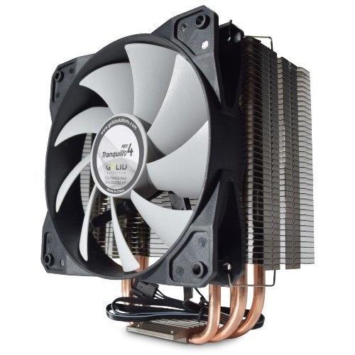 Gelid Tranquillo Rev.4 Quiet CPU Cooler with PWM Fan GEL-TRANQUILLO-REV4