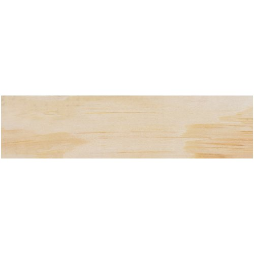 "Craft Decor Wood Shape W/Magnet 12/Pkg-6""X1.5""X.35"""