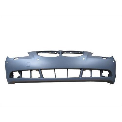 BMW 5 Series Saloon 2003-2007 Front Bumper With Sensor Holes - Primed (Not M5 or M-Sport Models)