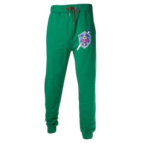 The Legend of Zelda Hyrule Shield Tracksuit Trousers - Green XXL