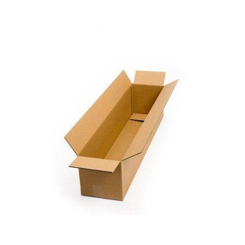 1x Postal Cardboard Box Long Mailing Shipping Carton 1100x93x93mm Brown