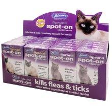 Fipronil Spot-on For Cats 12 X1 Vial & 12 X 3 Vial Packs