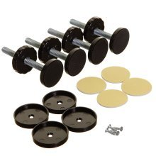 Stork Safety Gate Replacement Kit 4-part Pack - Black