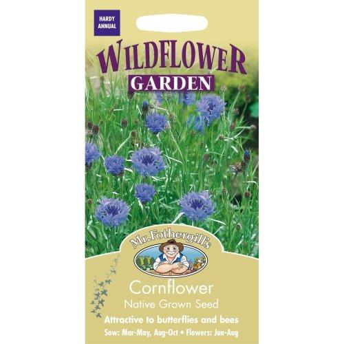 Mr Fothergills - Pictorial Packet - Wildflower - Cornflower - 150 Seeds
