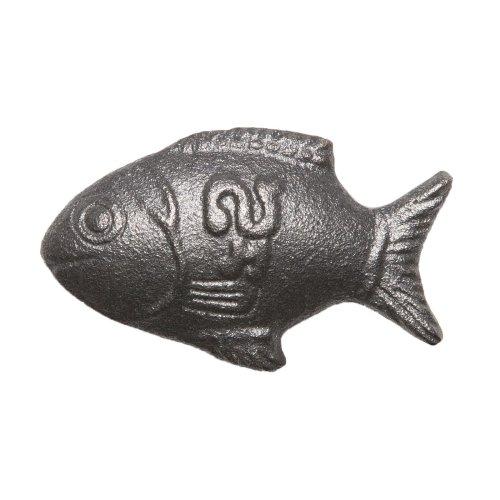 Lucky Iron Fish Iron Ingot Cooking Tool, Standard, Cast Iron