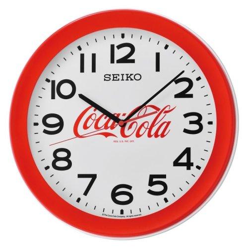 Seiko QXA922R Quartz Coca-Cola Wall Clock - Red