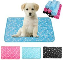 Winter Warm Pet Bed Mat Small Cat Dog Puppy Soft Coral Fleece Blanket Cushion