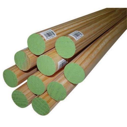 02541-R0036C1 1.25 x 36 in. Thunderbird Forest Poplar Dowels Hardwood  Light Green - pack of 4