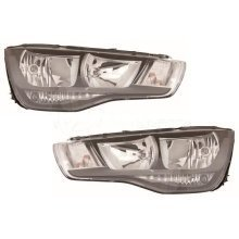 Audi A1 2010-2015 Headlights Headlamps Pair Left & Right