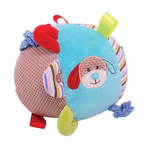 Bruno Soft Plush Bruno Activity Ball - Newborn Baby Sensory Development Toys