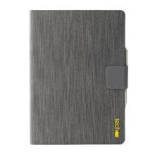 Techair Polyester IPAD Pro 12.9 Inch folio case With slip-proof lining  - Grey