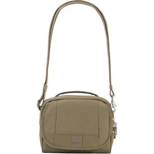 Pacsafe Metrosafe LS140 Anti-theft Compact Shoulder Bag (Earth Khaki)