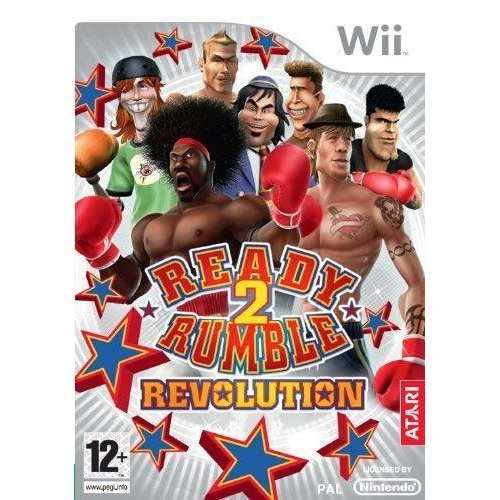 Ready To Rumble Revolution Nintendo Wii Game
