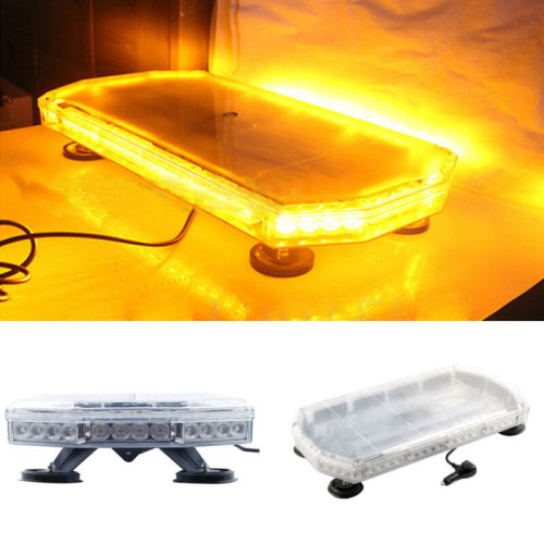UK Recovery Light bar 600mm 12/24v Flashing Beacon Truck Light Strobes Amber LED