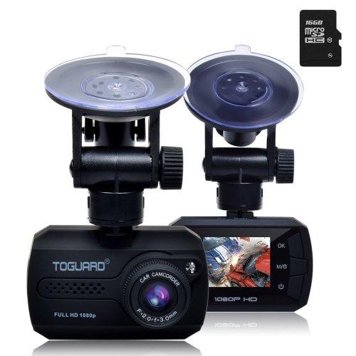 TOGUARD Mini Full HD 1080P Car Blackbox Dash Cam