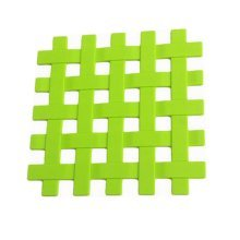 Silicone Placemat Cup Bowl Mat Table Non-slip Potholders Tableware Pad Green