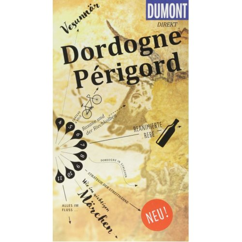 DuMont direkt Reiseführer Dordogne, Périgord: Mit großem Faltplan