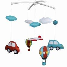 Handmade Crib Mobile Crib Decorations Cute Baby Mobile Educational Toy