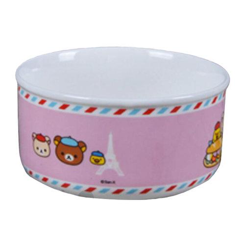 Porcelain Pets Food Water Bowls Dogs Cats Bowls Pet Supplies - Pink Panda