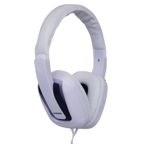 Digital Stereo Fashion Headphones With Luxury Padded Headband - Colour White/Black