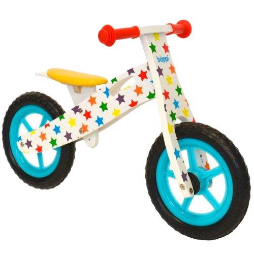 Boppi Kids Wooden Balance Bike 3 Flame Bopster 107-7F0-88E 4 and 5 Years