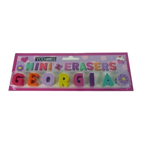 Childrens Mini Erasers - Georgia