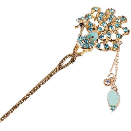 Classical Moods Hairpin Hair Ornaments Hair Clip Headwear Crown Blue