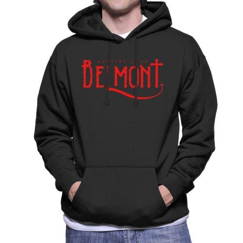 Castlevania Belmont Hunting Clan Red Men's Hooded Sweatshirt