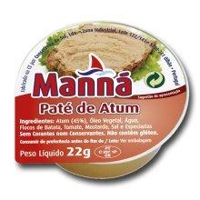 Tuna Fish Pate Manna - 24 un x 22gr