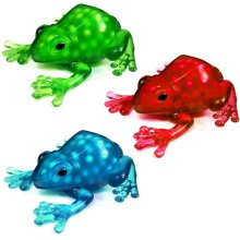 Squeezy Frog Squidgy Slime Filled Sensory Toy