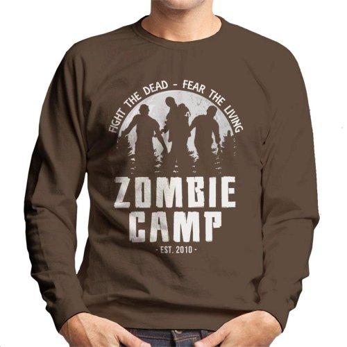 Zombie Camp The Walking Dead Men's Sweatshirt